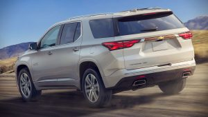 2021 Chevrolet Traverse High Country Wallpaper