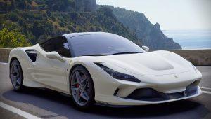 Ferrari F8 Tributo White 2020 Car Wallpaper