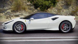 2020 Ferrari F8 Tributo White