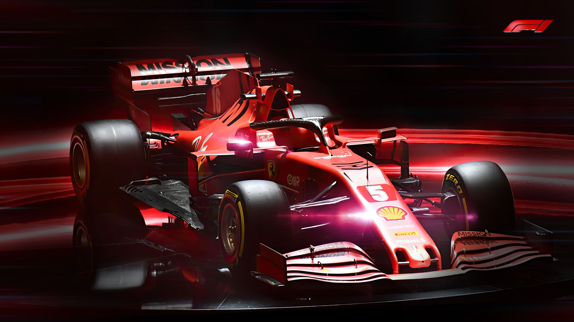 Ferrari 2020 F1 Car Sf1000 Wallpaper Hd
