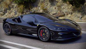 2020 Ferrari SF90 Stradale Black