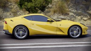 Ferrari Yellow Sports Car Wallpaper