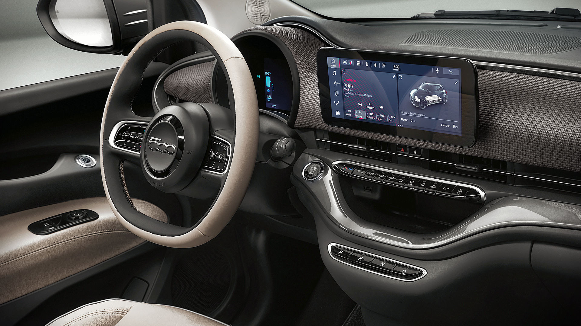 Fiat 500 2021 Interior Wallpaper
