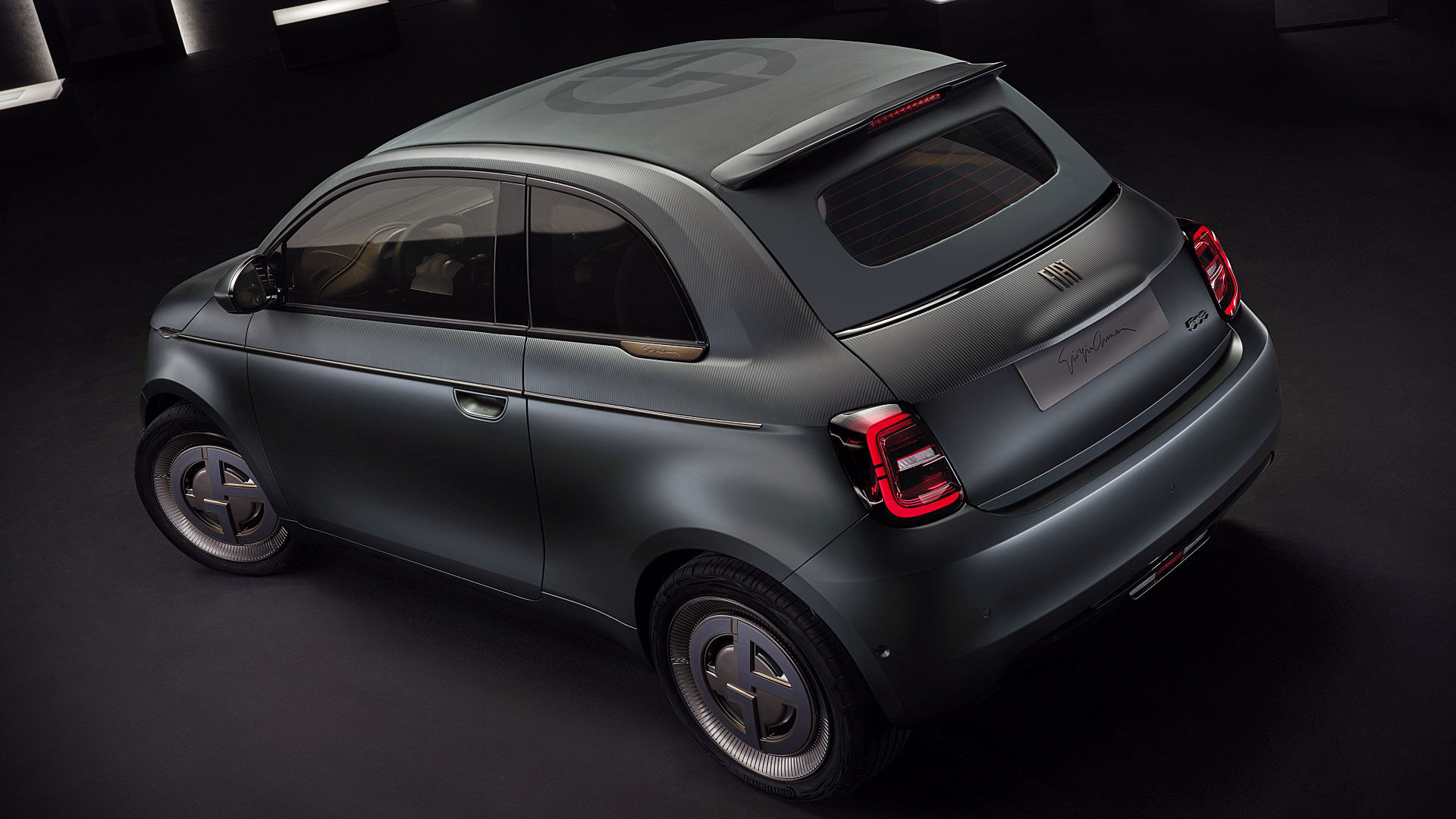 Fiat 500 Giorgio Armani 2021 Top Wallpaper