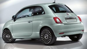 Fiat 500 Hybrid 2020 Back Wallpaper