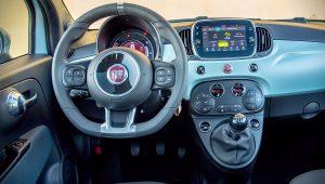 Fiat 500 Hybrid 2020 Interior Wallpaper