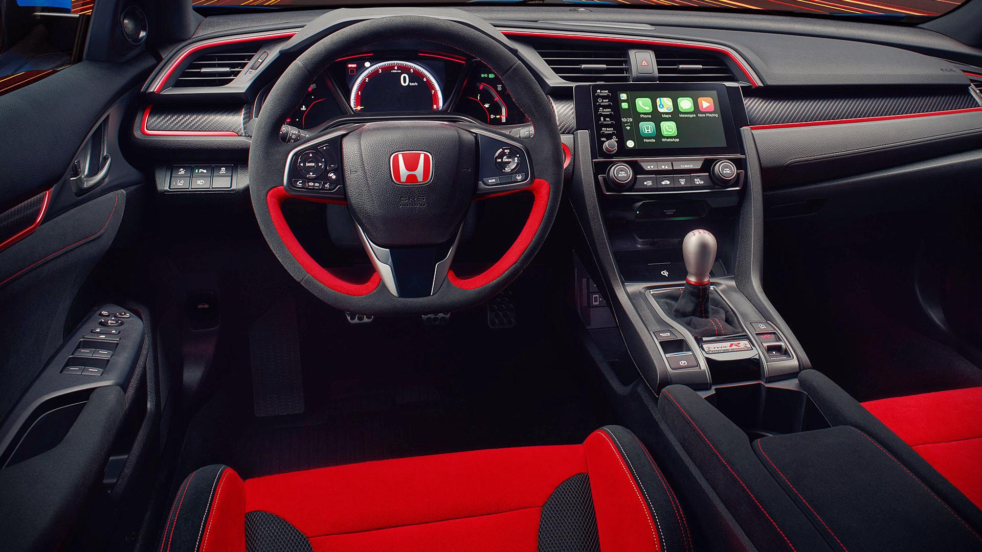 Honda Civic Type R 2020 Interior