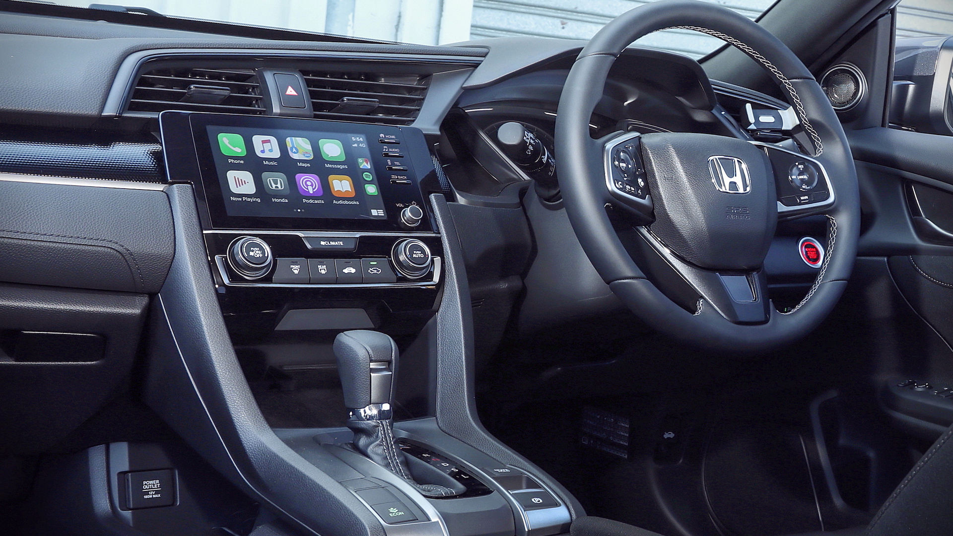 Honda Civic Vti S 2020 Interior