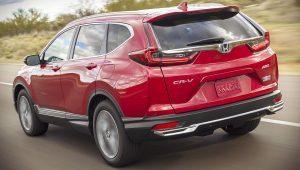 Honda CRV Hybrid 2021 Back Wallpaper