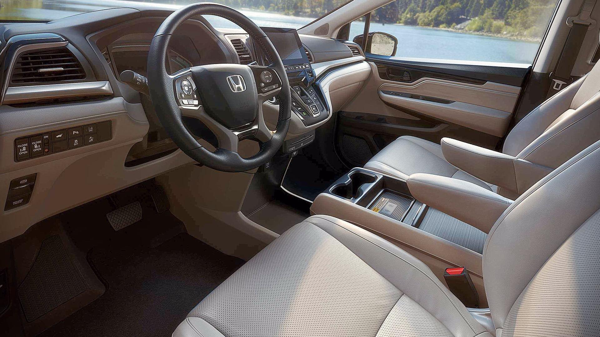 Honda Odyssey 2020 Interior Wallpaper