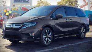 2020 Honda Odyssey Hd Wallpaper