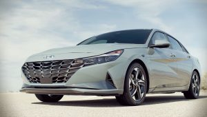 2021 Hyundai Elantra Hybrid Hd Wallpaper