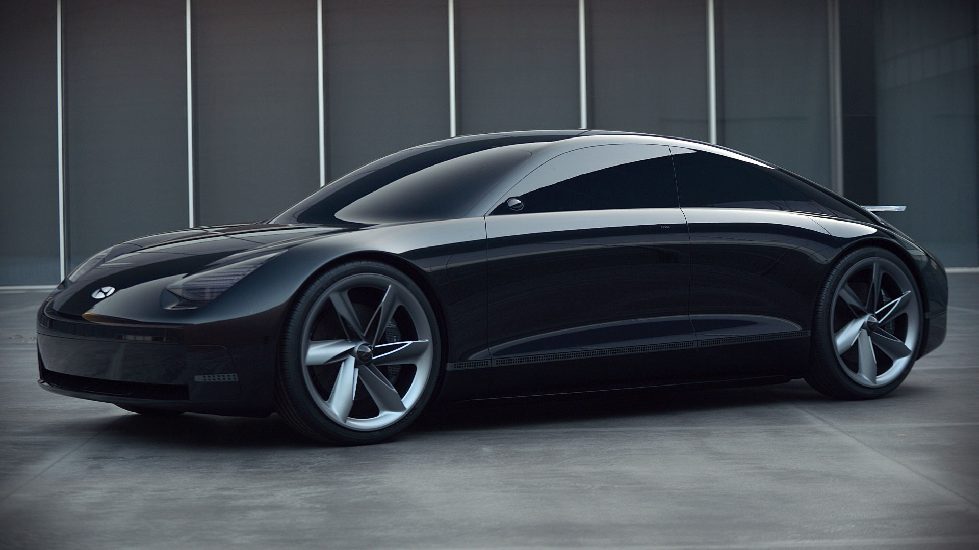 Hyundai Prophecy Concept 2020 Side Wallpaper