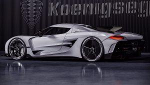2021 Koenigsegg Jesko Side Wallpaper