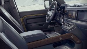 New Land Rover Defender 110 Interior