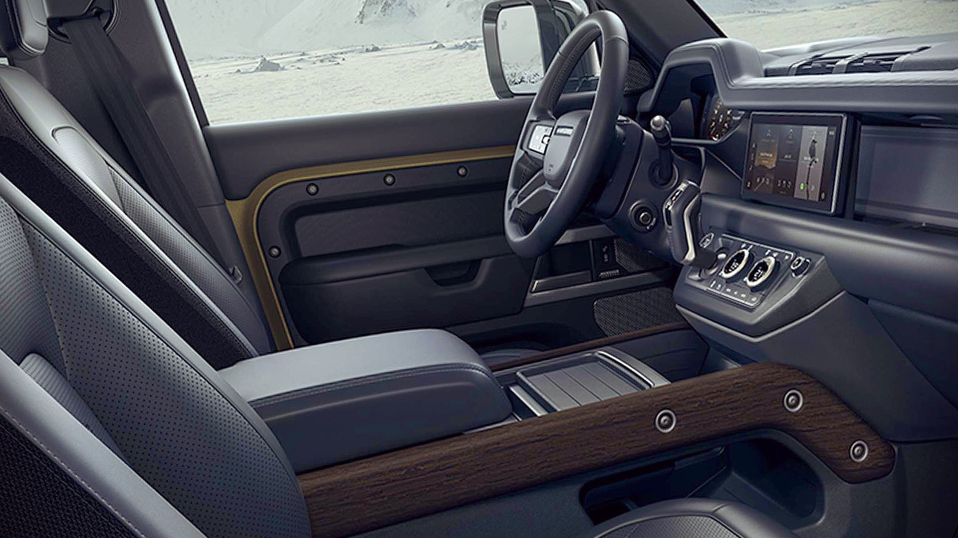 New Land Rover Defender 110 Interior