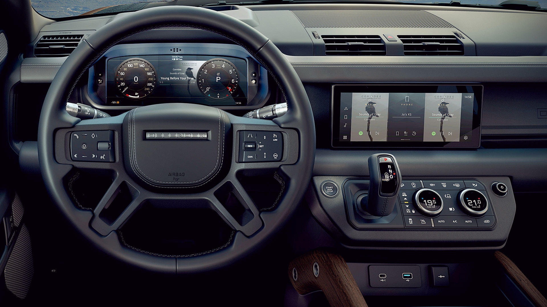 2020 Land Rover Defender 110 Interior Pictures
