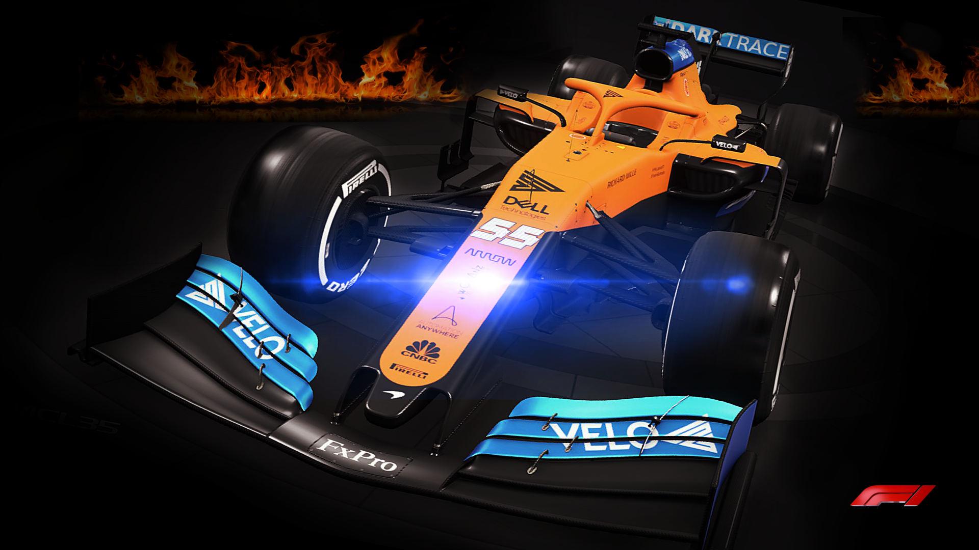 McLaren 2020 F1 Car MCL35 Wallpaper