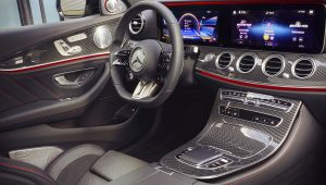 2021 Mercedes Benz E53 AMG Interior Wallpaper