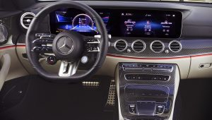 Mercedes Benz E53 AMG Estate 2021 Interior Wallpaper