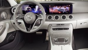 Mercedes Benz E-Class 350  2021 Interior Wallpaper