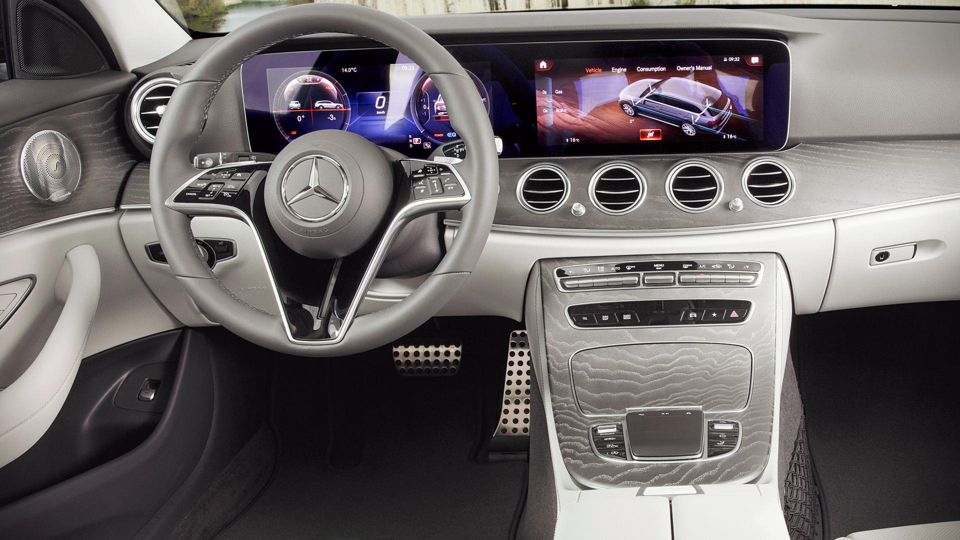 Mercedes Benz E-Class 350  2021 Interior Wallpaper