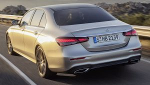 Mercedes Benz E-Class 2021 Back Wallpaper