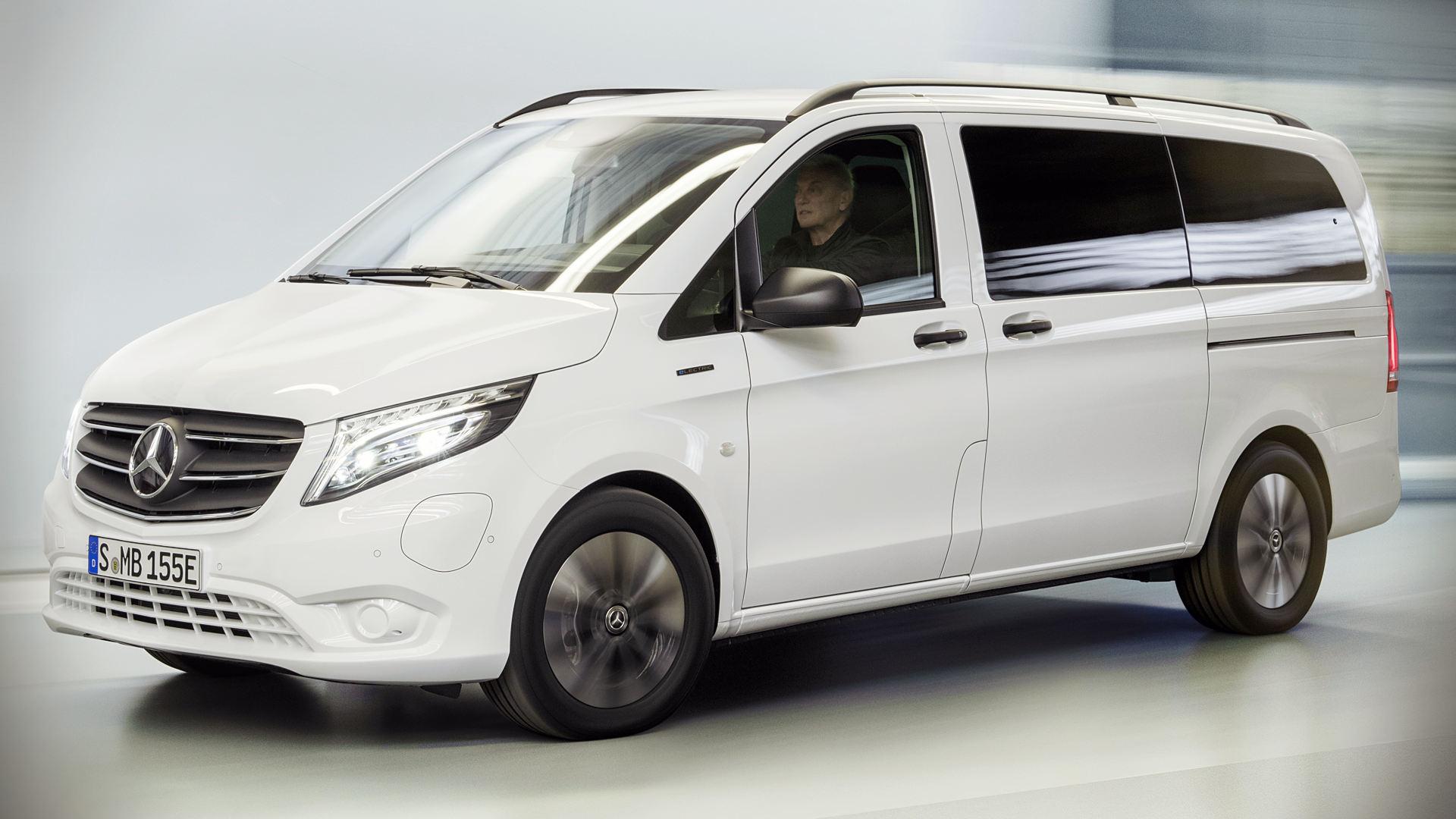 Mercedes Benz eVito 2021