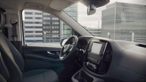 2021 Mercedes Benz eVito Interior Wallpaper
