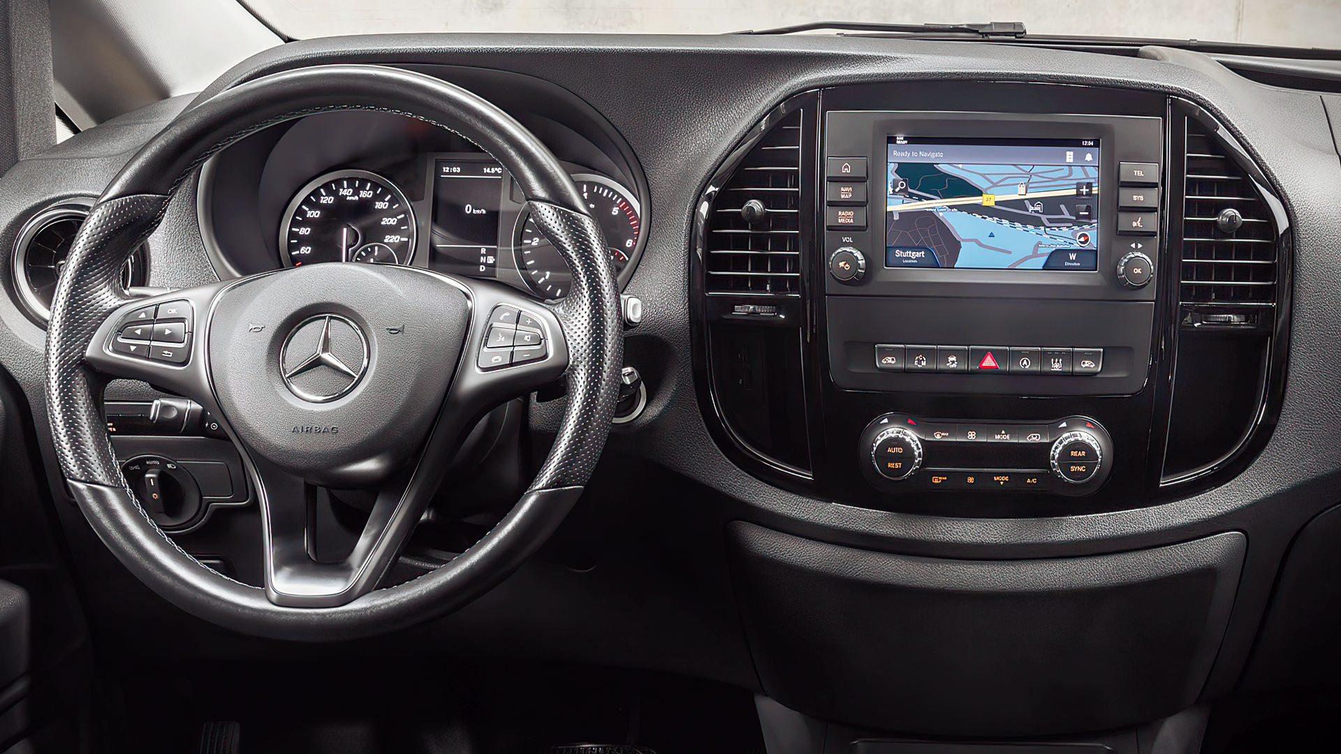 Mercedes Benz Vito 2021 Interior Wallpaper