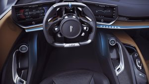 Pininfarina Battista 2020 Interior Wallpaper