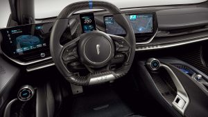 Pininfarina Battista 2021 Interior Anniversario