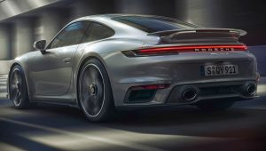 Porsche 911 Turbo S 2021 Back Wallpaper