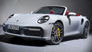 Porsche 911 Turbo S Cabriolet 2021 Wallpaper