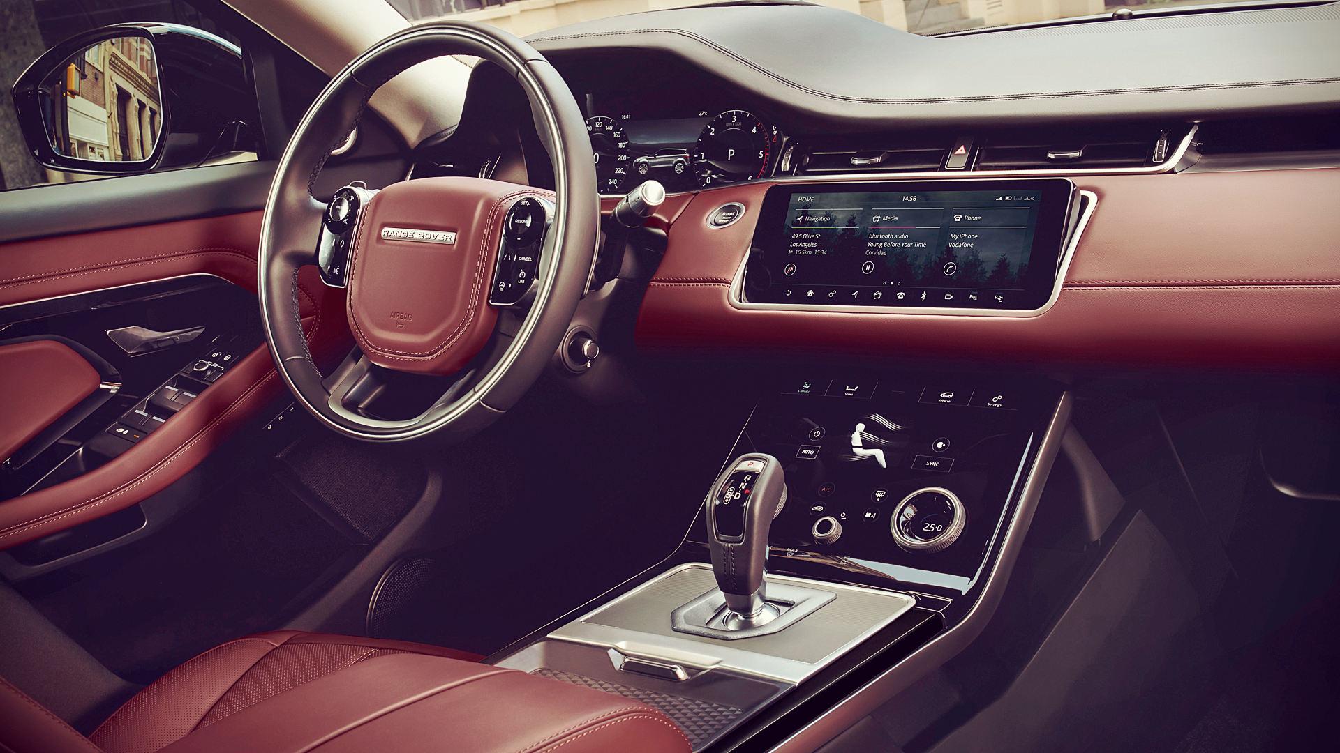 2020 Range Rover Evoque Inside Interior