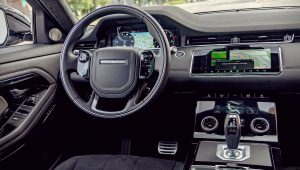 Range Rover Evoque 2020 Interior White