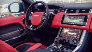 Range Rover Sport 2020 Interior Wallpaper