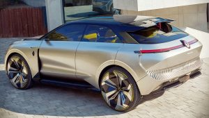 2020 Renault Morphoz Concept Wallpaper