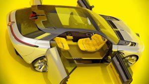 2020 Renault Morphoz Concept Top Wallpaper