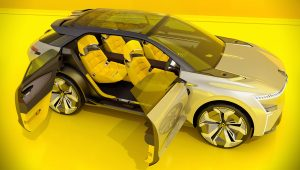 Renault Morphoz 2020 Concept Seats Wallpaper