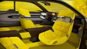 Renault Morphoz 2020 Interior Seats Wallpaper