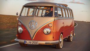 2020 Volkswagen e-Bulli Front Wallpaper