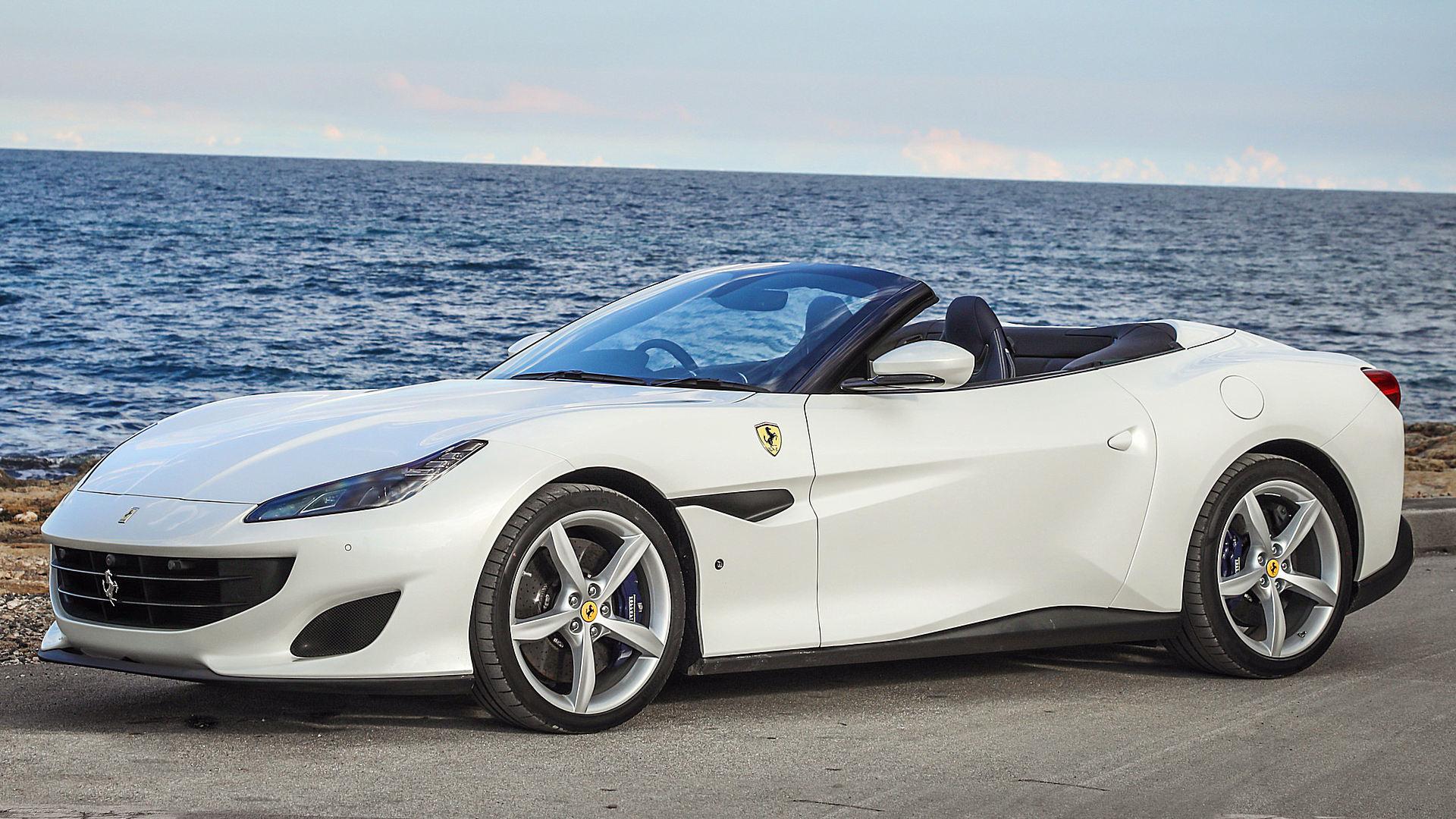 2019 Ferrari Portofino Colors White