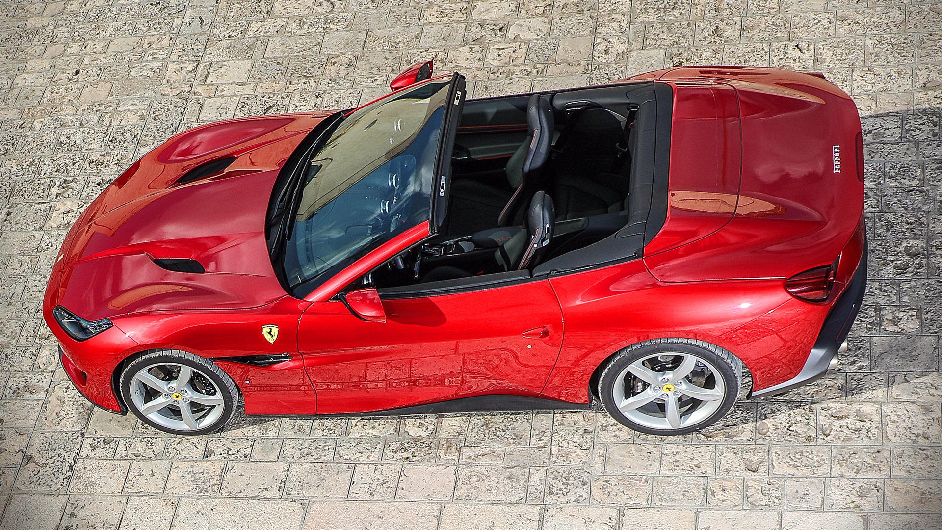 2019 Ferrari Portofino Red Convertible