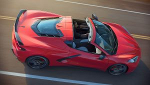 2020 Chevrolet Corvette Stingray C8 Red Convertible