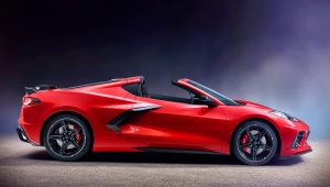 2020 Chevrolet Corvette Stingray Convertible C8 Wallpaper