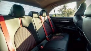 2020 Toyota Camry TRD Interior Pictures