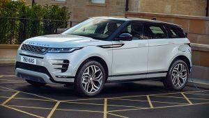 Range Rover Evoque 2021 Hybrid Images