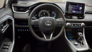 2021 Toyota RAV4 Hybrid Interior
