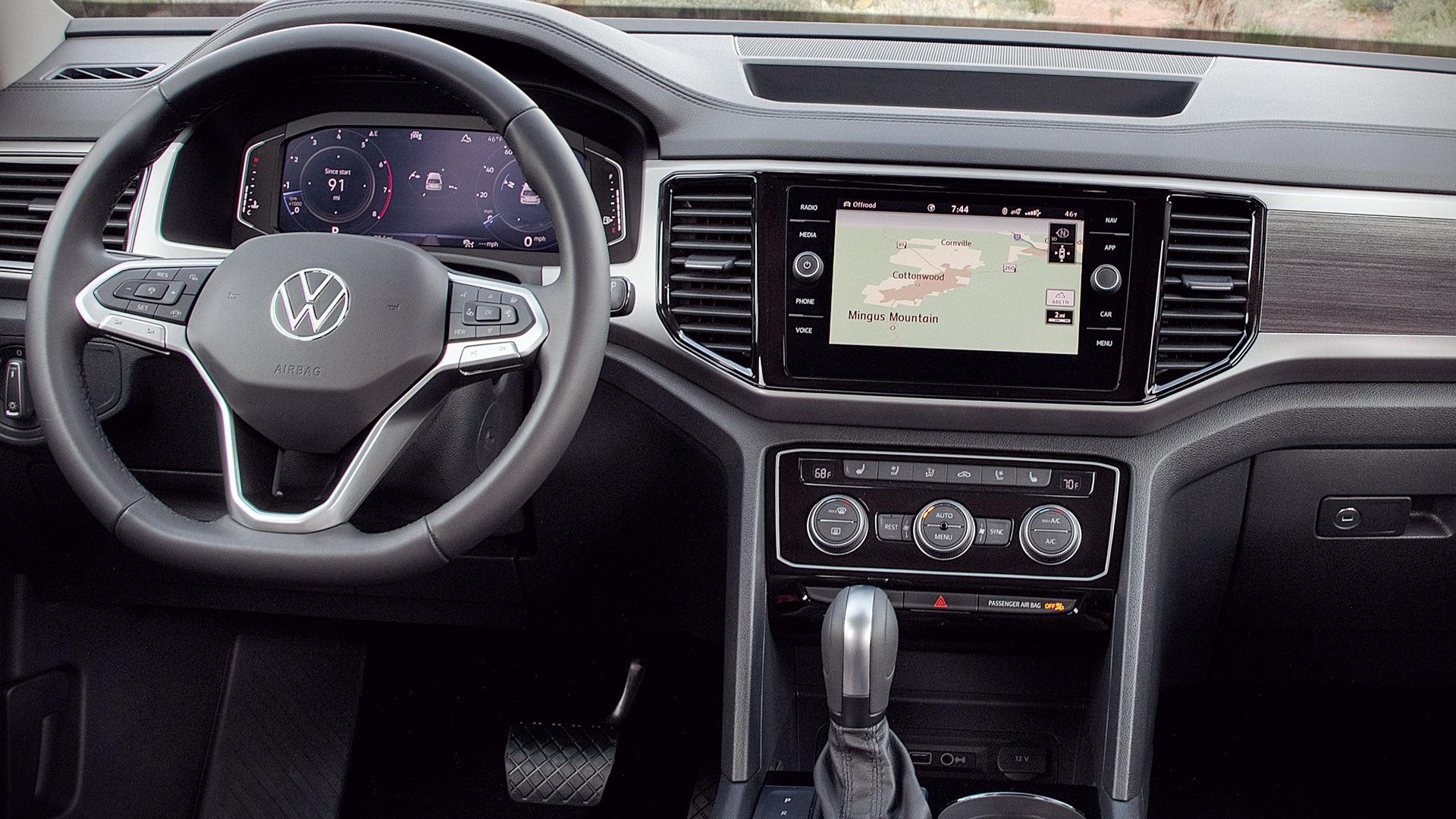 2021 Volkswagen Atlas Basecamp Interior